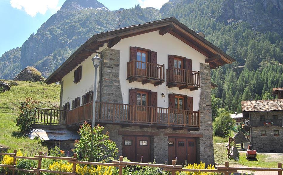 Valgrisenche affitto turistico